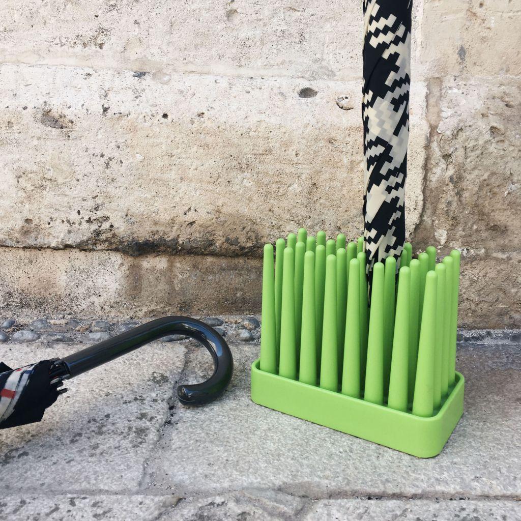 Pusher Prato Porta Ombrelli Verde